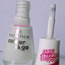essence colour & go nail polish, Farbe: 199 wild white ways