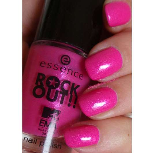 essence rock out!! nail polish, Farbe: 03 best pop (LE)