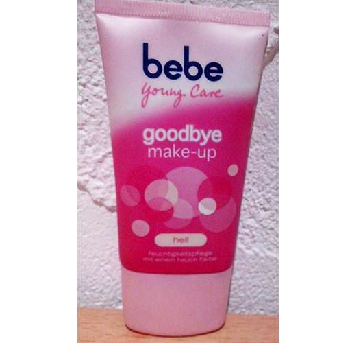 bebe Young Care goodby make-up, Nuance: hell