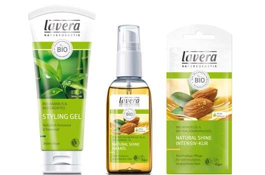 lavera Natural Shine Haarpflege & lavera Haarstyling Neuheiten