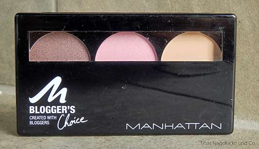 MANHATTAN Blogger's Choice Eyeshadow, Farbe: 3 Downtown to Earth (LE)