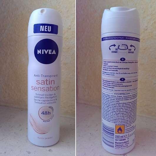 NIVEA Satin Sensation Anti-Transpirant Spray