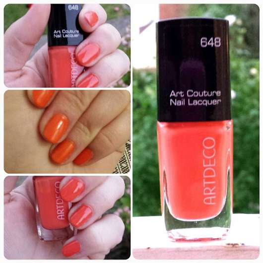 Artdeco Art Couture Nail Lacquer, Farbe: 648 couture salmon pink