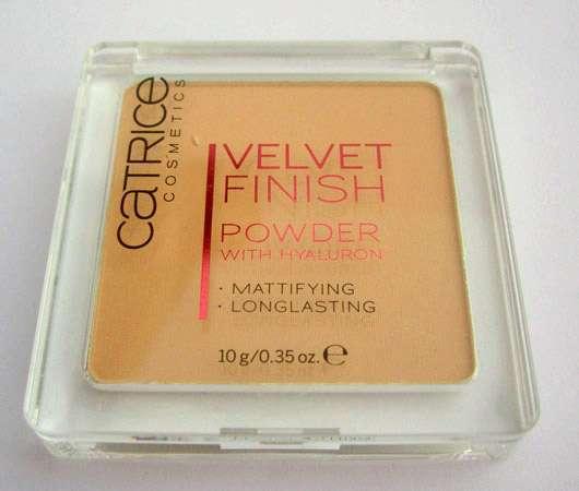 Catrice Velvet Finish Powder With Hyaluron, Farbe: 020 Natural Velvet