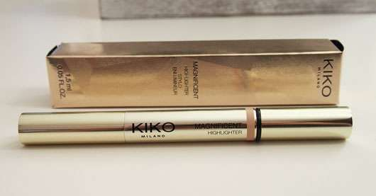 KIKO Magnificent Highlighter, Farbe: 01 Royal Gold (LE)