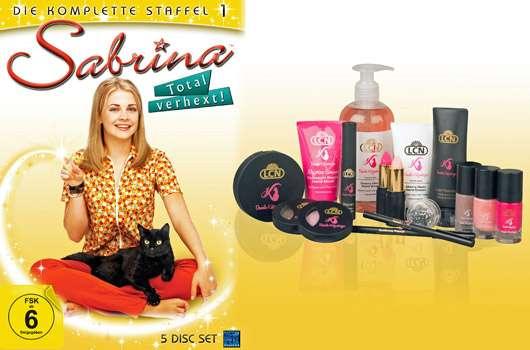 """3×1 LCN Beauty-Set Daniela Katzenberger & """"Sabrina -Total verhext"""" DVD-Box zu gewinnen!"""