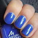 MANHATTAN Birthday Colours Nail Polish, Farbe: 009 Blue Party Dress (LE)