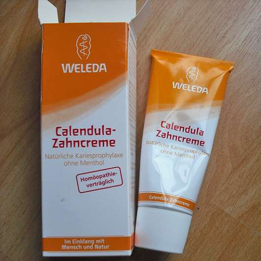 Weleda Calendula-Zahncreme