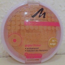 Produktbild zu MANHATTAN CLEARFACE Compact Powder – Farbe: 75 Beige