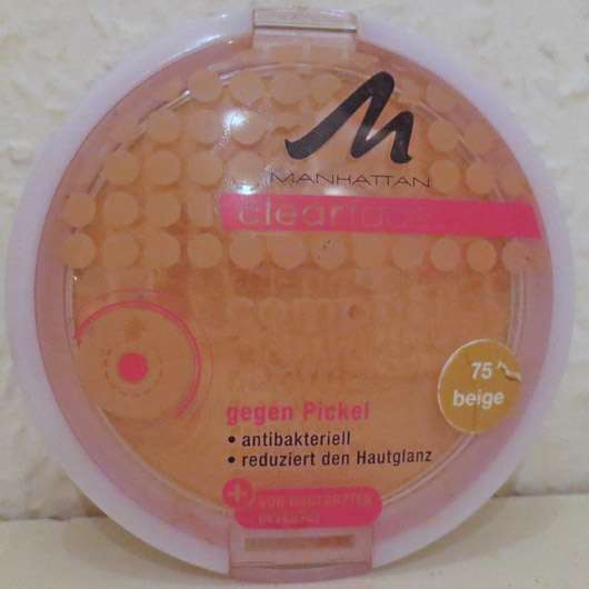 MANHATTAN CLEARFACE Compact Powder, Farbe: 75 Beige