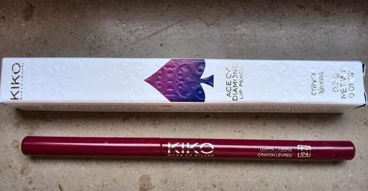 KIKO Ace Of Diamond Lip Pencil, Farbe: 27 Refined Burgundy (LE)