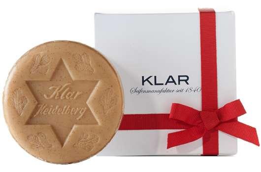Klar Seifen präsentiert limitierte Seifenedition zu Weihnachten