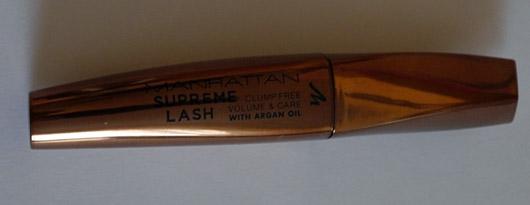 MANHATTAN Supreme Lash Mascara, Farbe: 1010N Schwarz