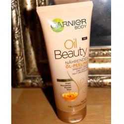 Produktbild zu Garnier Body Oil Beauty Nährendes Öl-Peeling