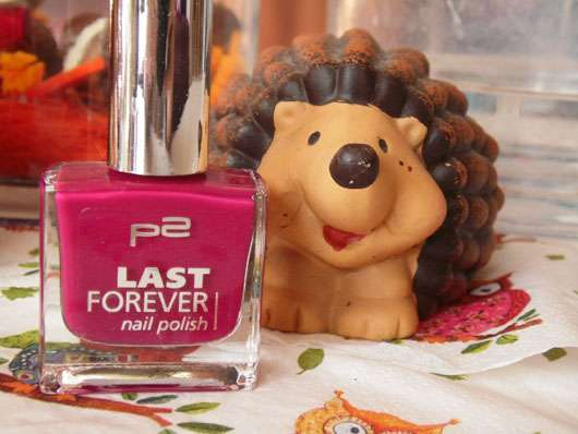 p2 last forever nail polish, Farbe: 250 warm me up