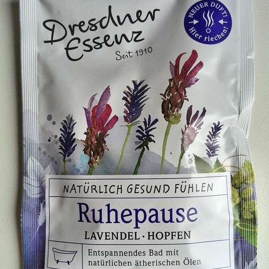 Dresdner Essenz Gesundheitsbad Ruhepause Lavendel-Hopfen