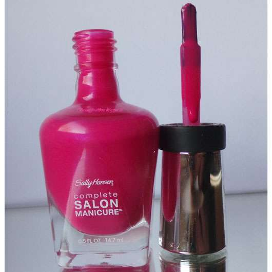 <strong>Sally Hansen</strong> Complete Salon Manicure Nagellack - Farbe: 530 Back To The Fuchsia