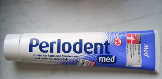 Perlodent med Zahncreme