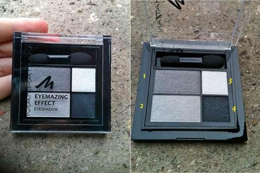 MANHATTAN Eyemazing Effect Eyeshadow, Farbe: 109A Smokey Smile
