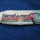 "blend-a-med complete plus ""weiss"" Zahncreme"