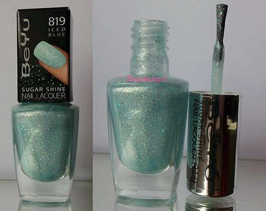 BeYu Sugar Shine Nail Lacquer, Farbe: 819 Iced Blue