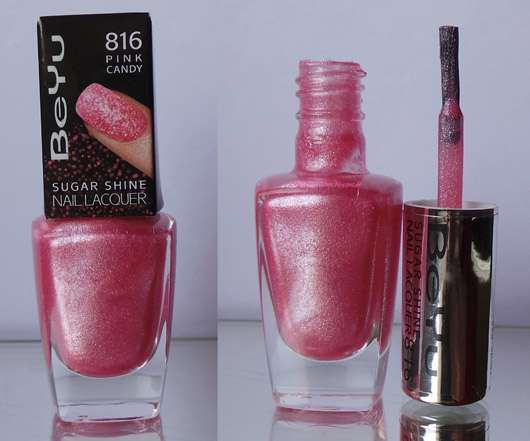 BeYu Sugar Shine Nail Lacquer, Farbe: 816 Pink Candy