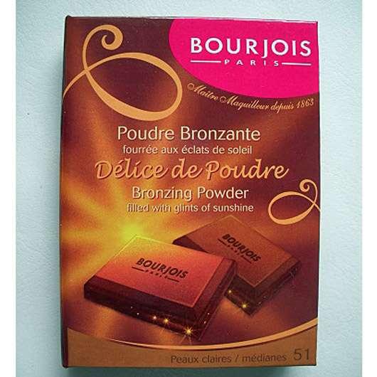Bourjois Paris Délice de Poudre Bronzing Powder, Farbe: 51