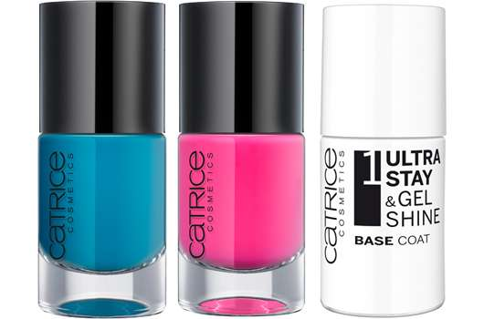 "CATRICE Ultra Stay & Gel Shine 3 Step Nail System ""It Pieces"""