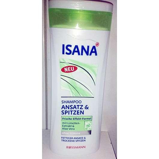 Test Shampoo Isana Shampoo Ansatz Spitzen Testbericht Von
