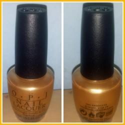 Produktbild zu OPI Nail Lacquer – Farbe: HRF-13 Rollin' in Cashmere (LE)