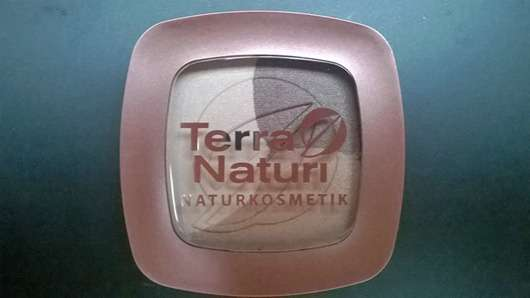 Terra Naturi Metallic Trio Eyeshadow, Farbe: 03 Coffee Party