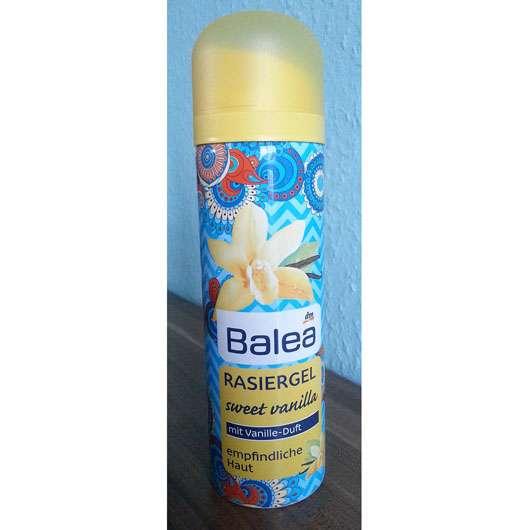 Balea Rasiergel Sweet Vanilla