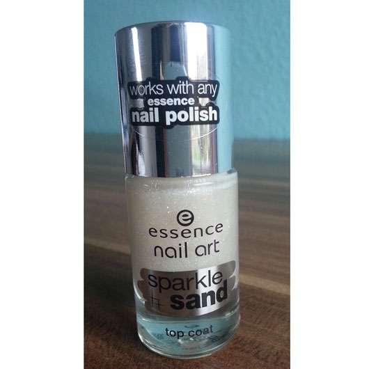 essence nail art sparkle sand top coat, Farbe: 24 i feel gritty!