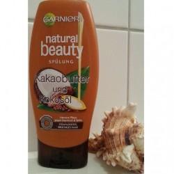 Produktbild zu Garnier Natural Beauty Kakaobutter & Kokosöl Spülung