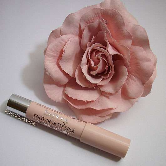 IsaDora Twist-Up Gloss Stick, Farbe: 29 Clear Nude (LE)