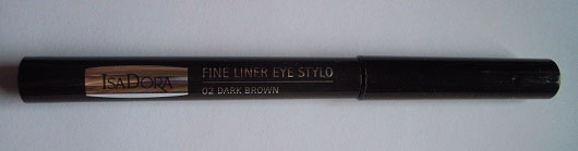 IsaDora Fine Liner Eye Stylo, Farbe: 02 Dark Brown (LE)