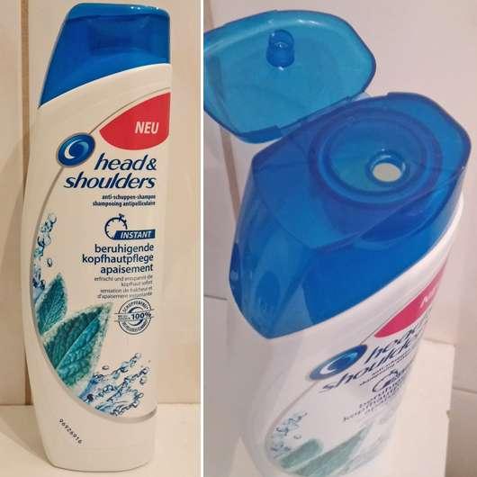 test shampoo head shoulders instant beruhigende kopfhautpflege shampoo testbericht von. Black Bedroom Furniture Sets. Home Design Ideas