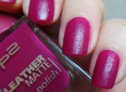 Produktbild zu p2 cosmetics leather matte polish – Farbe: 040 dress code: trendy