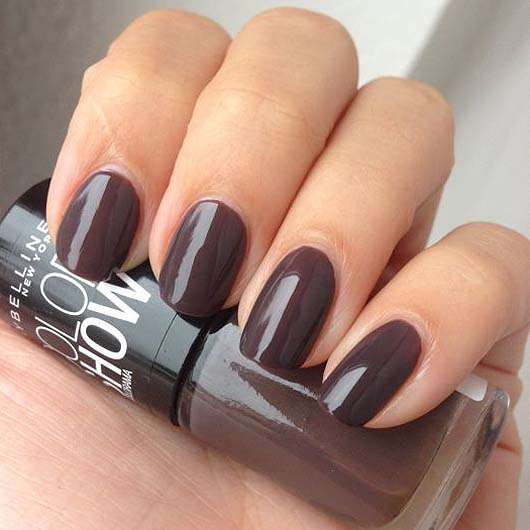 test nagellack maybelline colorshow by colorama nagellack farbe 549 midnight taupe. Black Bedroom Furniture Sets. Home Design Ideas