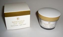 Produktbild zu LR Nanogold Silk Nachtcreme