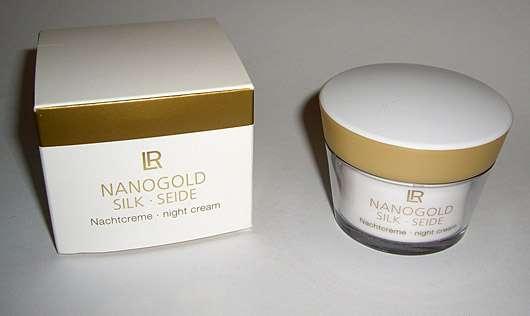 LR Nanogold Silk Nachtcreme