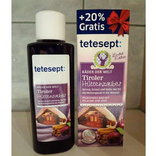 tetesept Bäder der Welt Tiroler Hüttenzauber Bad (LE)