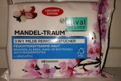 Produktbild zu Rival de Loop 3in1 Milde Reinigungstücher Mandel-Traum (LE)