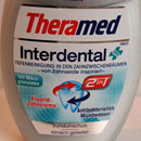 Theramed Interdental 2in1 Fluorid-Zahncreme und Antibakterielles Mundwasser