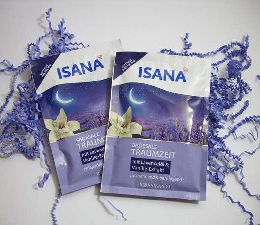 ISANA Badesalz Traumzeit (mit Lavendelöl und Vanille-Extrakt)