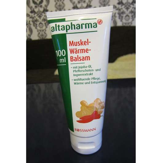 <strong>ALTAPHARMA</strong> Muskel-Wärme-Balsam