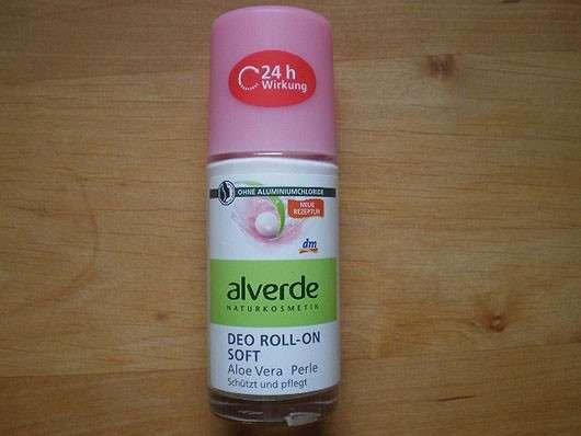 alverde Deo Roll-on Soft Aloe Vera Perle