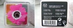 Produktbild zu The Body Shop Shimmer Cubes Eye Palettes – Farbe: 32 Pink Poppy (LE)