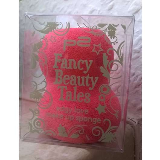 p2 fancy beauty tales edgy love make up sponge (LE)