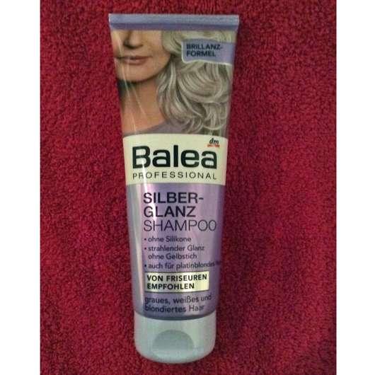 test shampoo balea professional silberglanz shampoo